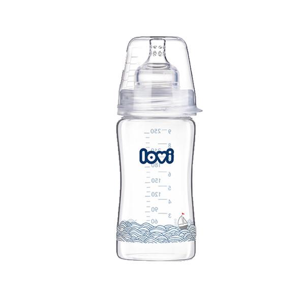 شیشه شیر کودک لاوی مدل 74201 ظرفیت 250 میلی لیتر
