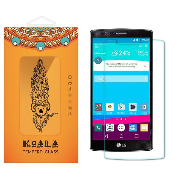 محافظ صفحه نمایش شیشه ای کوالا مدل Tempered مناسب برای گوشی موبایل ال جی G4