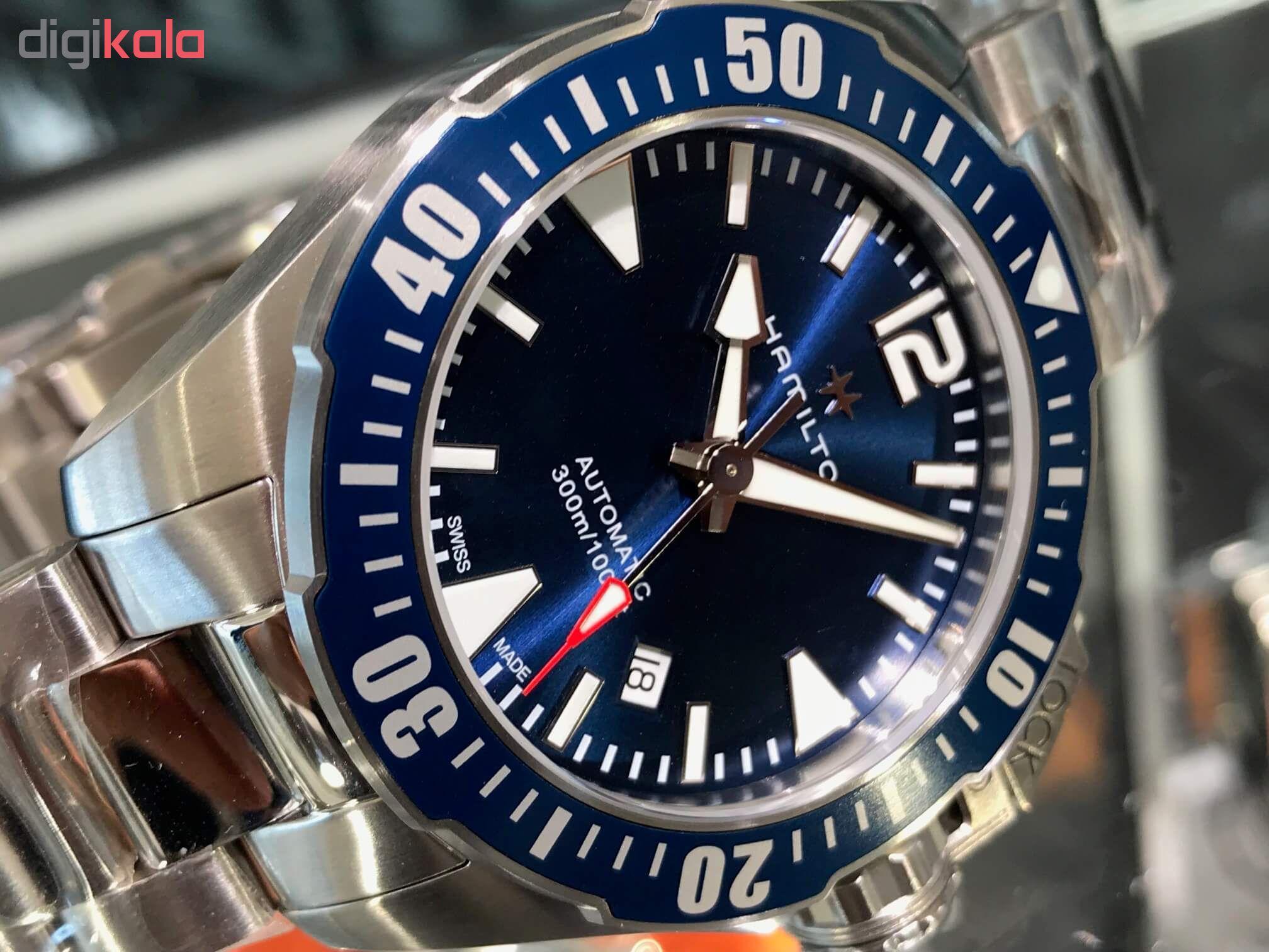 خرید ساعت مچی عقربه ای مردانه همیلتون مدل h77705145