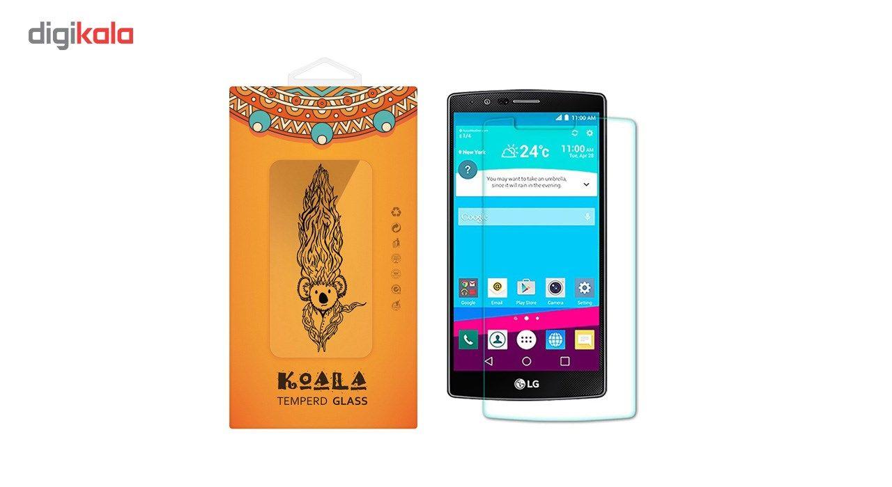 محافظ صفحه نمایش شیشه ای کوالا مدل Tempered مناسب برای گوشی موبایل ال جی G4 main 1 1