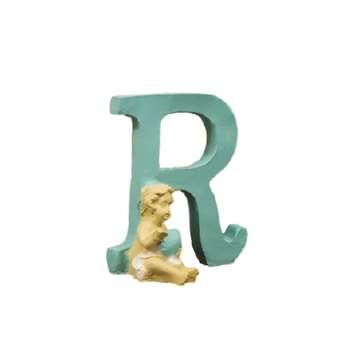 استند اسم اتاق کودک طرح حرف R