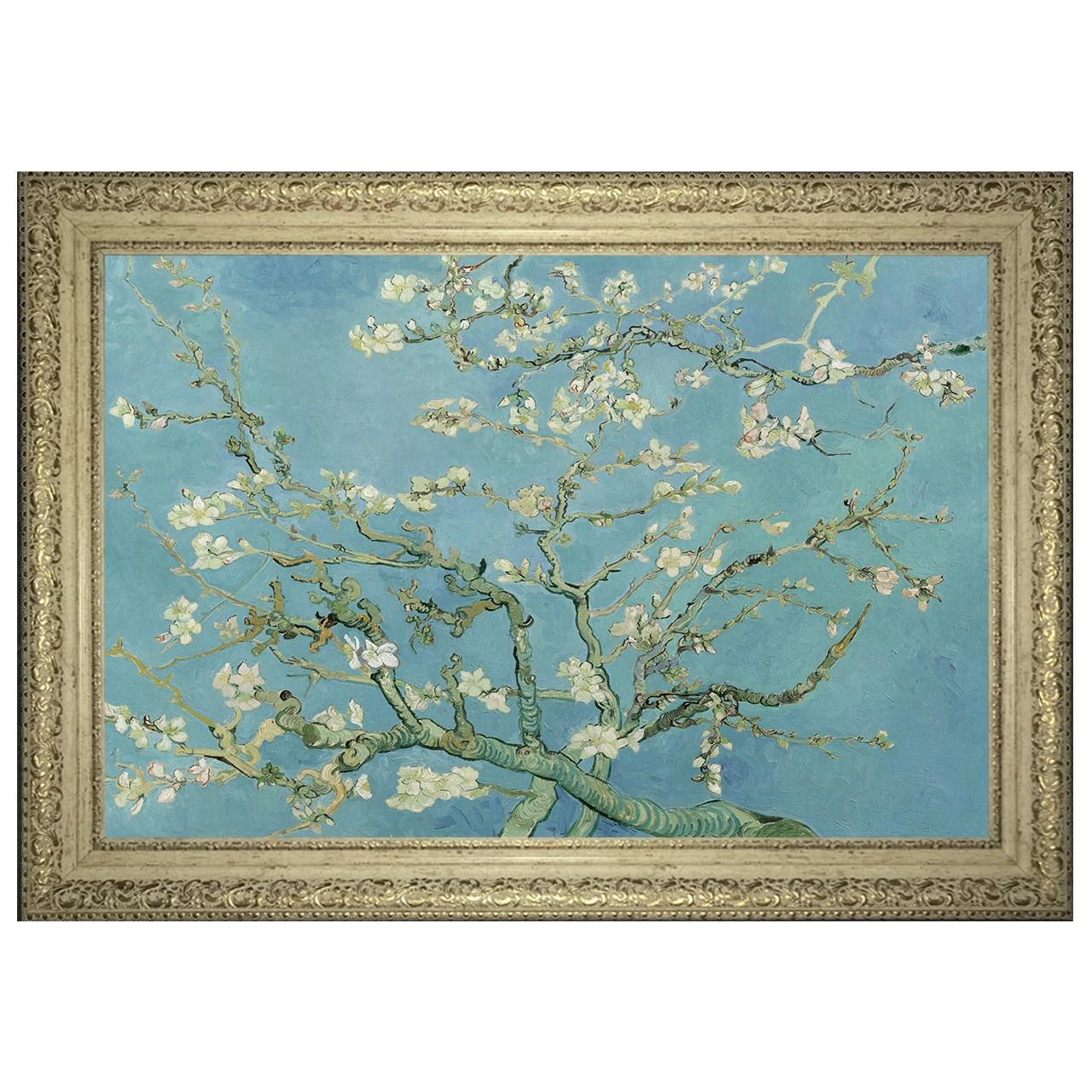 تابلو  گالری هنری پیکاسو طرح شکوفه های بادام