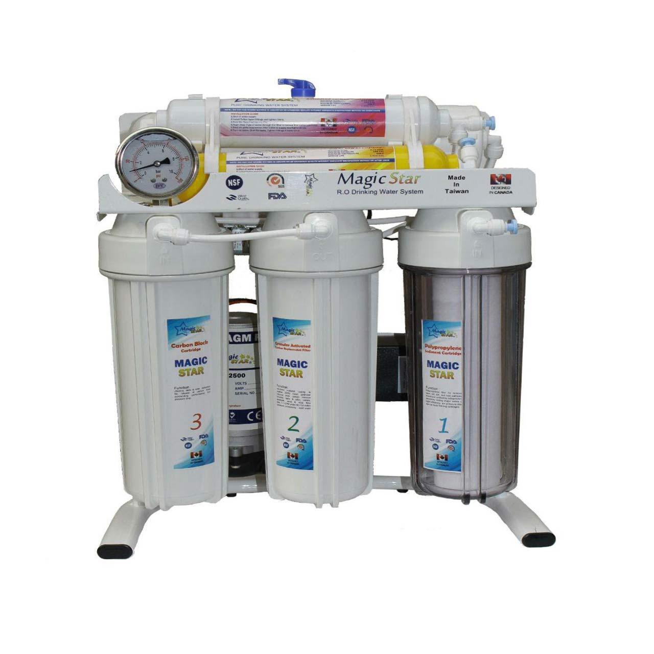 قیمت                      تصفیه آب خانگی مجیک استار مدل RO-50G
