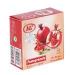 صابون انار ان جی مدل Pomegranate مقدار 50 گرم