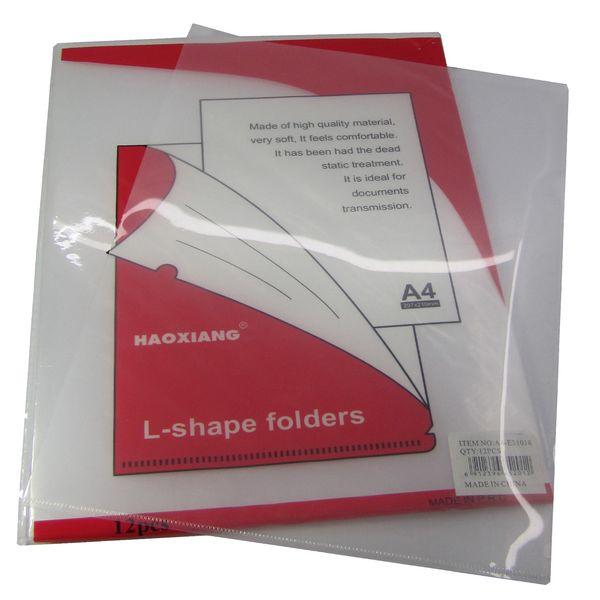 پوشه شفاف مدل 31018 بسته 12 عددی