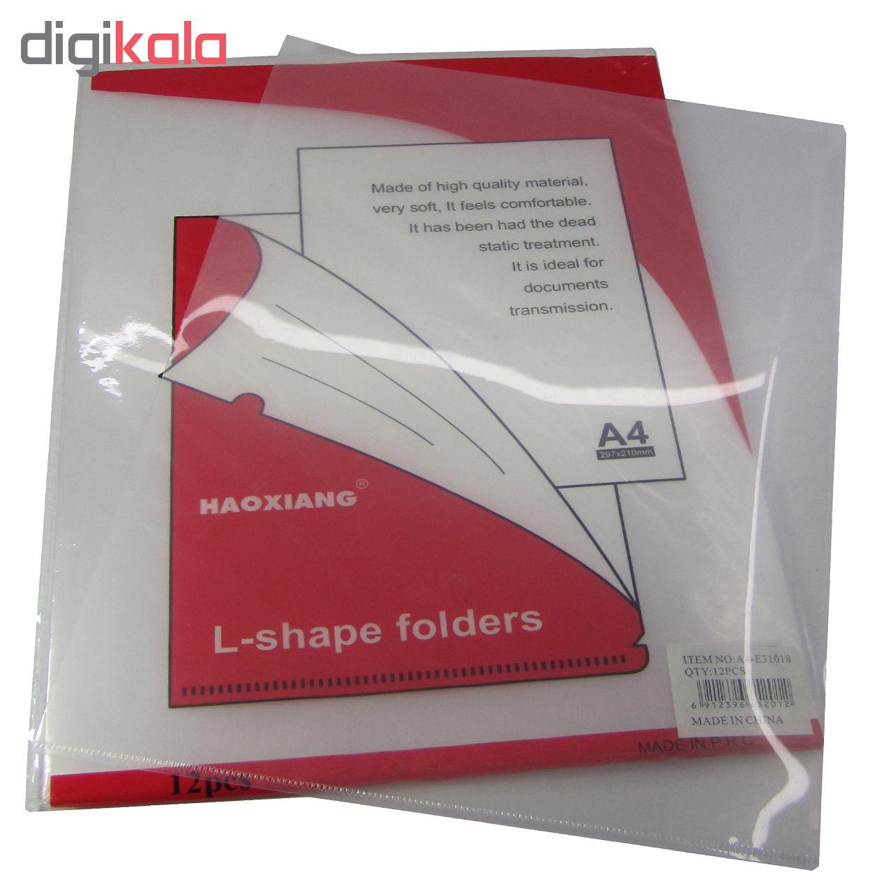 پوشه شفاف مدل 31018 بسته 12 عددی main 1 1