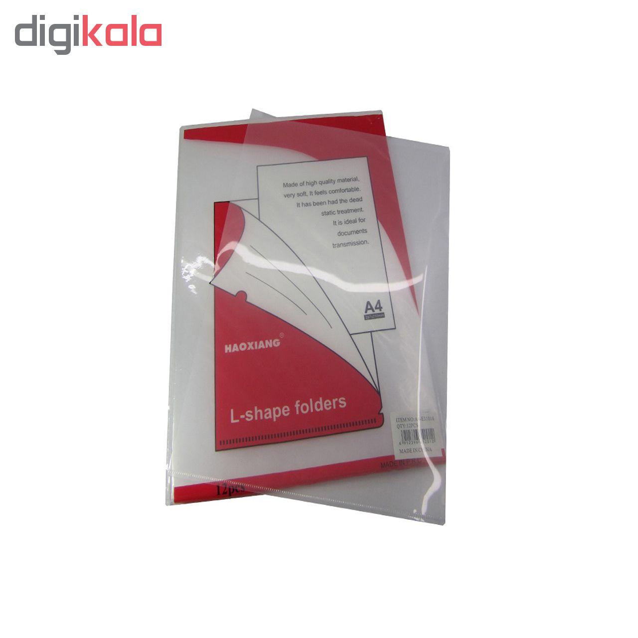 پوشه شفاف مدل 31018 بسته 12 عددی main 1 2