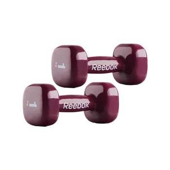 دمبل ایروبیک روکش دار ریباک مدل Reebok B3 وزن 1 کیلوگرم بسته 2 عددی |