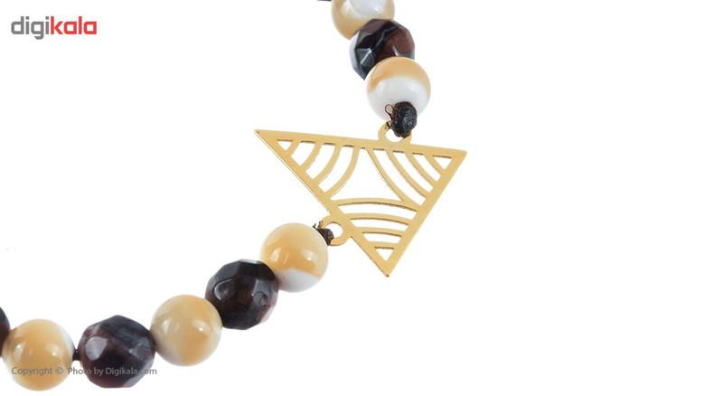 دستبند طلا 18 عیار ماهک مدل MB0483 - مایا ماهک