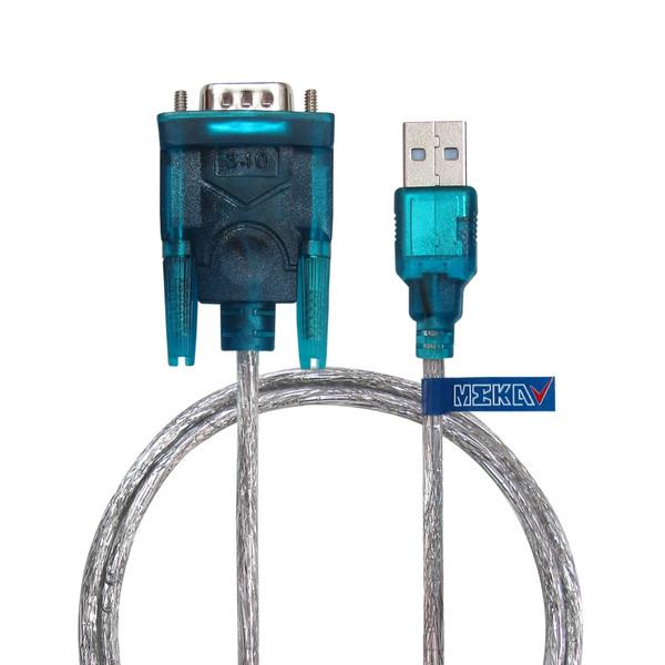 کابل تبدیل USB2.0 به سریال RS232 مکا مدل MCU13 طول 75 سانتیمتر