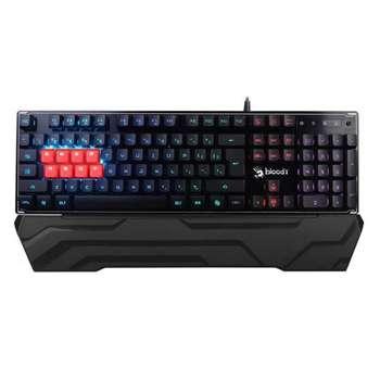 تصویر کیبورد گیمینگ مکانیکی ای فورتک مدلB۳۳۷۰R A4TECH B3370R 8Light Strike Mechanical Gaming Keyboard