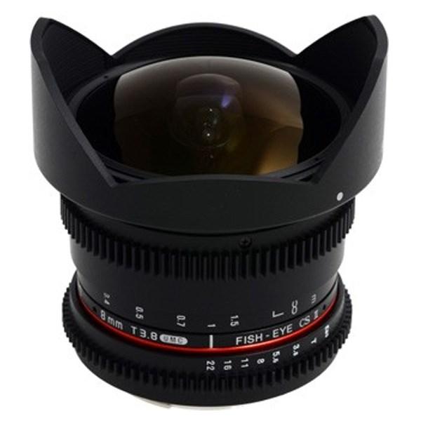 لنز 8mm T38 Asph IF MC Fisheye CSII DH VDSLR Canon