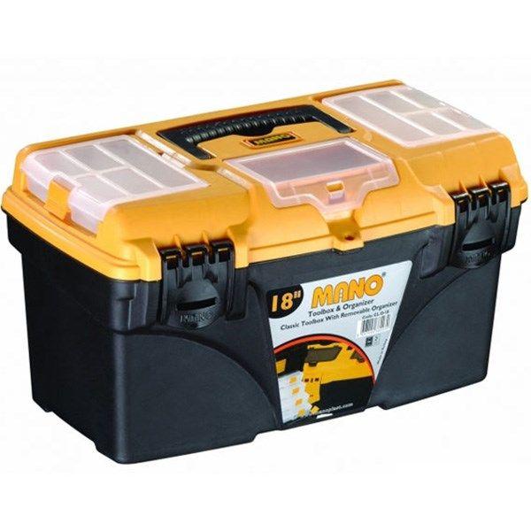 جعبه ابزار مانو مدل CLO18 سایز 18 اینچ