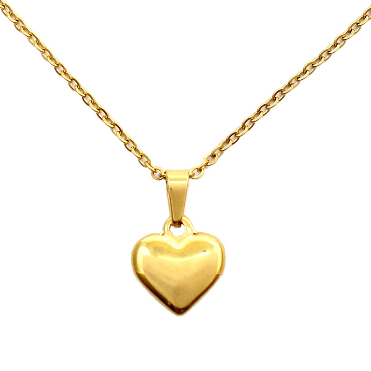 خرید آویز ساعت آی جواهر طرح قلب کد 11672AV