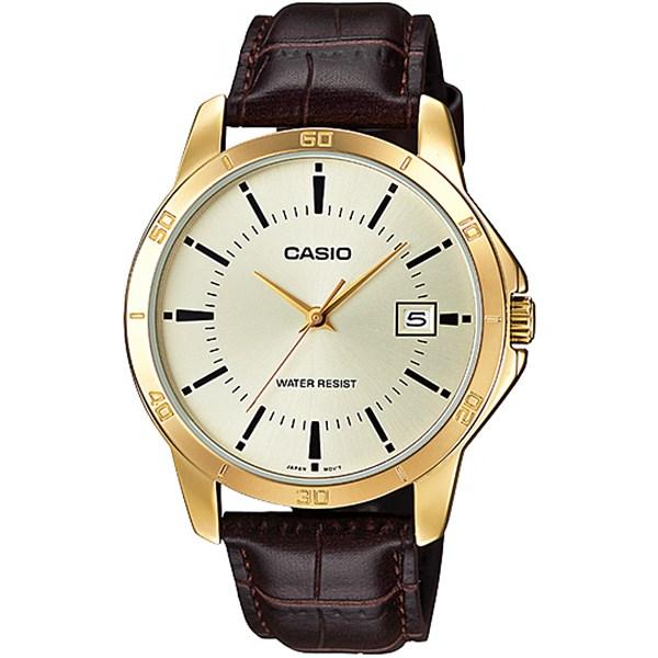 ساعت مچی عقربه ای کاسیو مدل MTP-V004GL-9AUDF مناسب برای آقایان 23