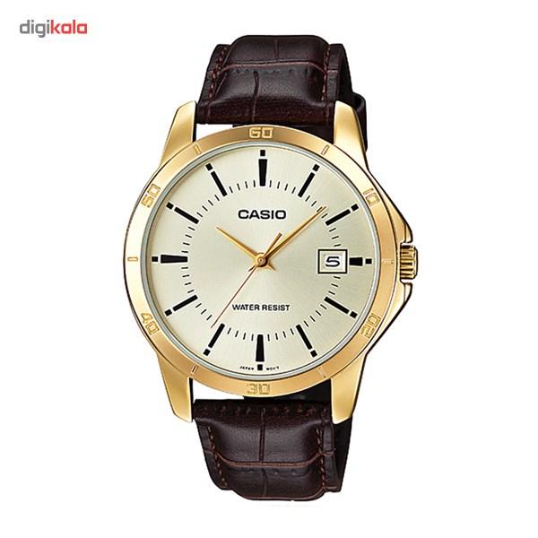خرید ساعت مچی عقربه ای کاسیو مدل MTP-V004GL-9AUDF مناسب برای آقایان | ساعت مچی