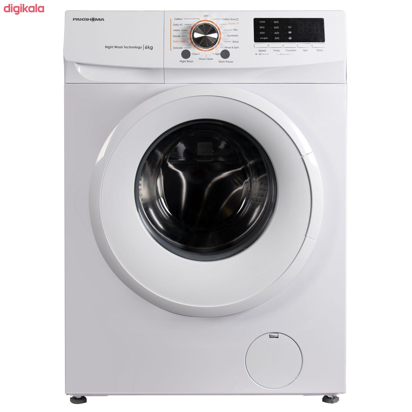 ماشین لباسشویی پاکشوما مدل TFU-63100 ظرفیت 6 کیلوگرم main 1 1