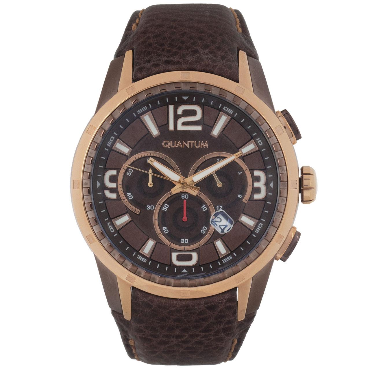 ساعت مچی عقربه ای مردانه کوانتوم مدل EXG417.742