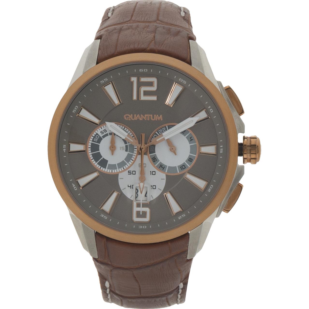 ساعت مچی عقربه ای مردانه کوانتوم مدل EXG363.70 38