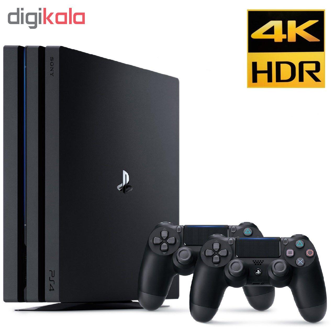 کنسول بازی سونی مدل  Playstation 4 Pro 2018 کد CUH-7216B Region 2 ظرفیت 1 ترابایت main 1 1
