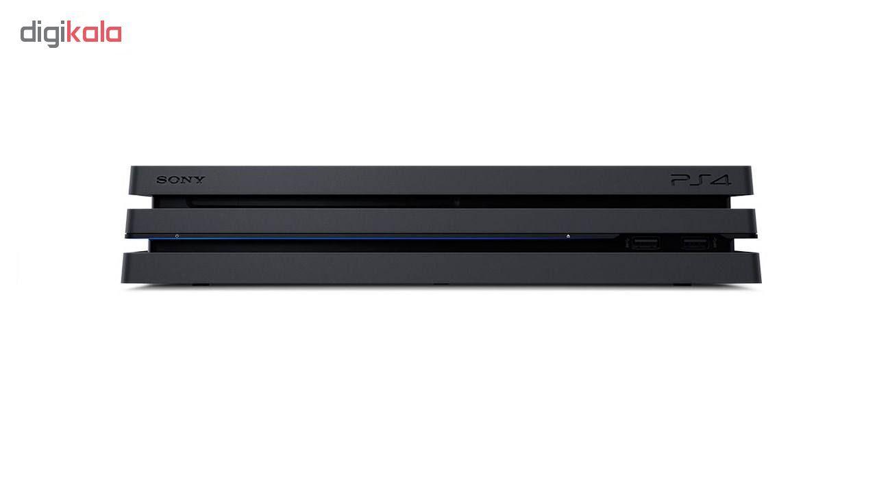 کنسول بازی سونی مدل  Playstation 4 Pro 2018 کد CUH-7216B Region 2 ظرفیت 1 ترابایت main 1 5
