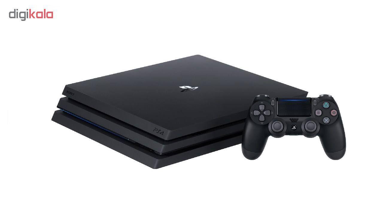 کنسول بازی سونی مدل  Playstation 4 Pro 2018 کد CUH-7216B Region 2 ظرفیت 1 ترابایت main 1 4