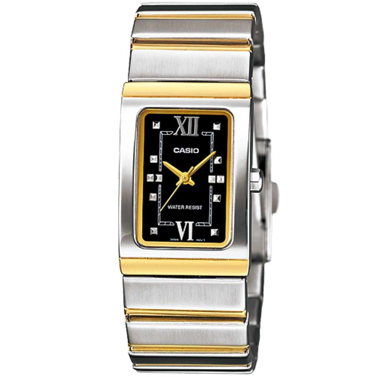 ساعت مچی عقربه ای زنانه کاسیو مدل LTP-1356SG-1ADF
