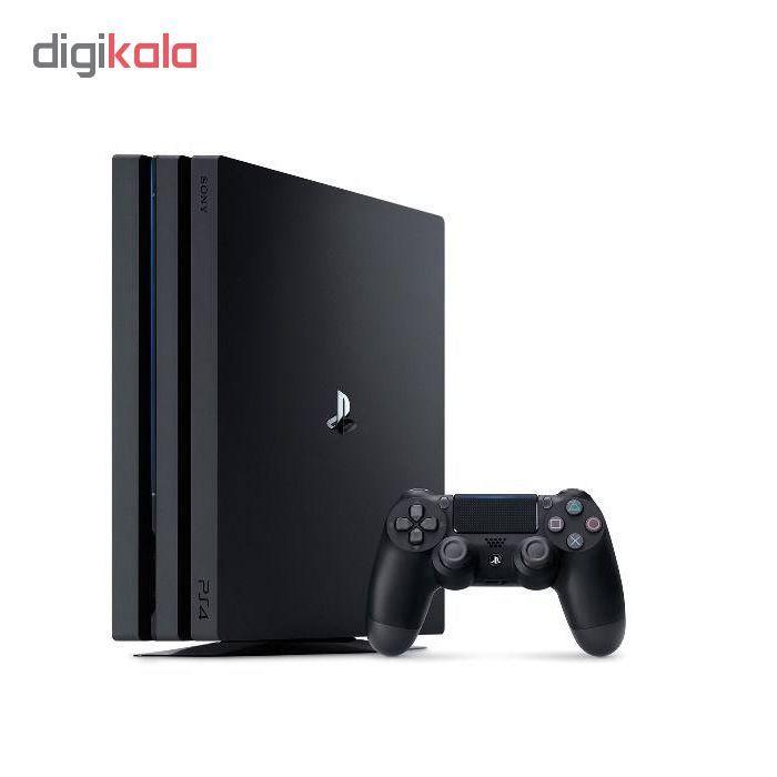 کنسول بازی سونی مدل  Playstation 4 Pro 2018 کد CUH-7216B Region 2 ظرفیت 1 ترابایت main 1 2