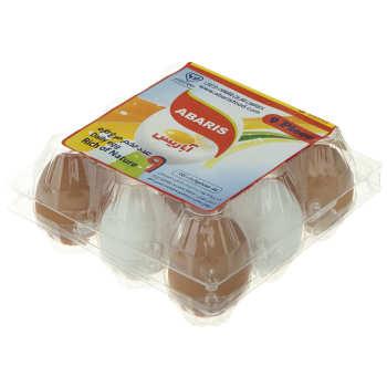 تخم مرغ سفید و رسمی آباریس بسته 9 عددی