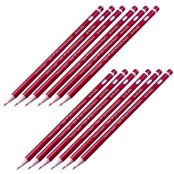 مداد قرمز آدل مدل 1410 بسته 12 عددی