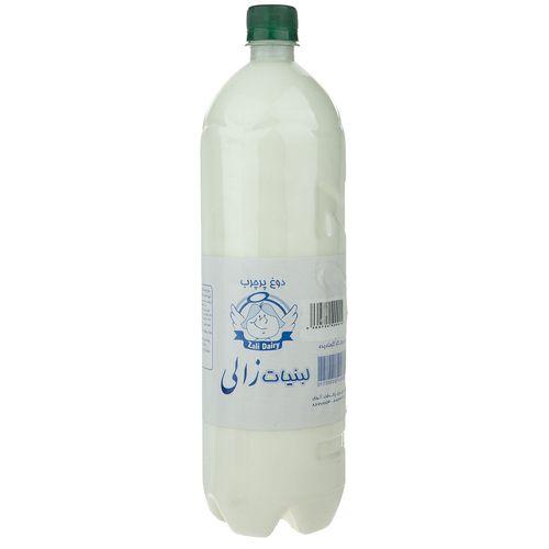 دوغ بدون گاز گرمادیده زالی مقدار 1.5 لیتر