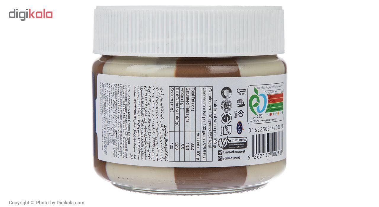کرم کاکائو فندقی و شیری سوربن مقدار 300 گرم main 1 2