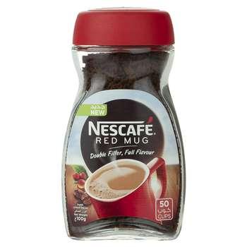 قهوه فوری نسکافه مدل Red Mug مقدار 100 گرم