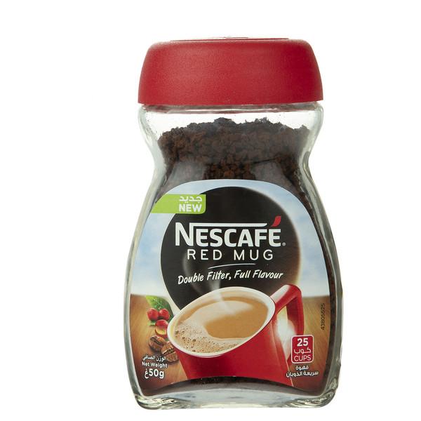 قهوه فوری Red Mug نسکافه - 50 گرم