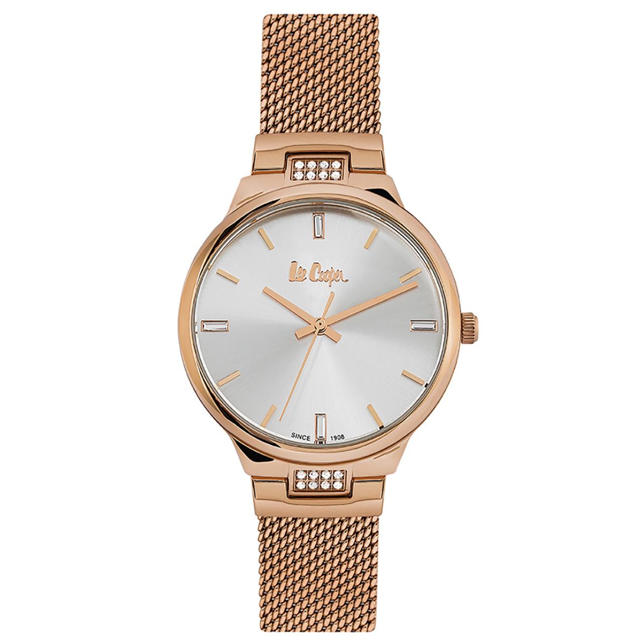 ساعت مچی عقربه ای زنانه لی کوپر مدل LC06557.430