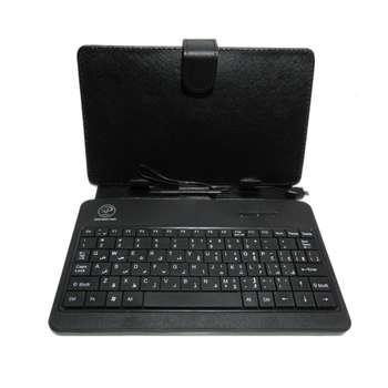 کیف کلاسوری کیبورد دار اکس پی پروداکت مدل TC1102 مناسب برای تبلت 7 اینچی