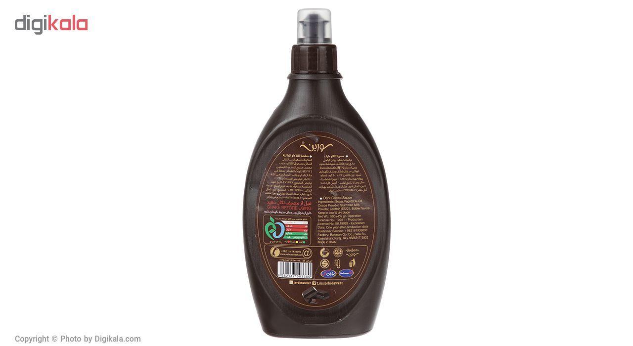 سس کاکائو دارک سوربن مقدار 500 گرم main 1 2