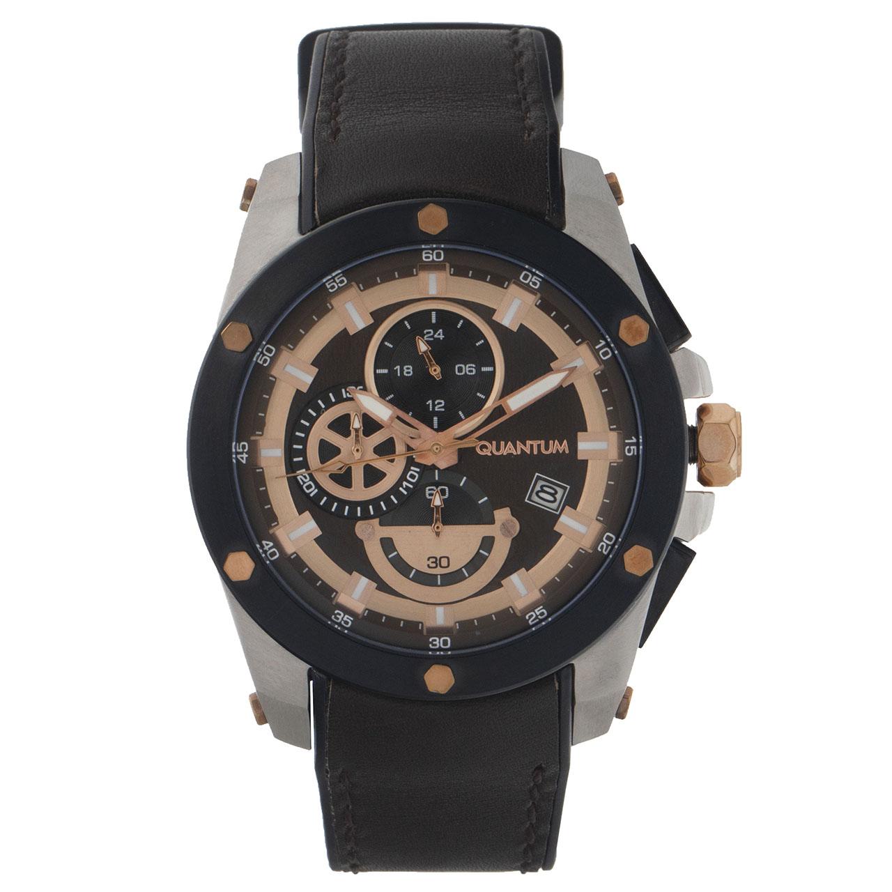 ساعت مچی عقربه ای مردانه کوانتوم مدل ADG438.842 1