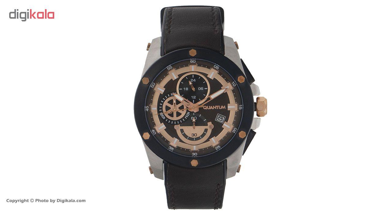 ساعت مچی عقربه ای مردانه کوانتوم مدل ADG438.842              ارزان