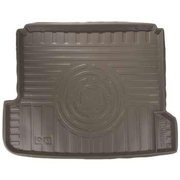 کفپوش سه بعدی صندوق خودرو آرا مدل اطلس مناسب برای سمند (کرم)