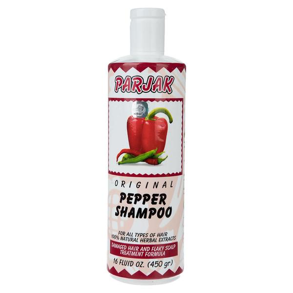 شامپو پرژک مدل Pepper مقدار 450 میلی لیتر