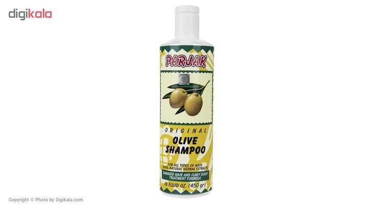شامپو پرژک مدل Olive مقدار 450 میلی لیتر