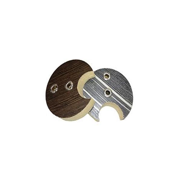 پایه لوله چوب لباسی مدل MDF بسته 2 عددی
