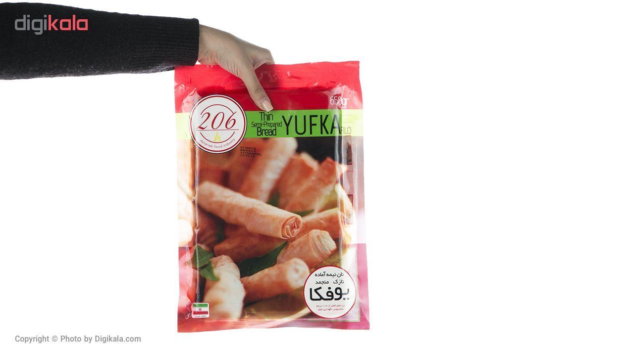 نان نیمه آماده منجمد یوفکا 206 مقدار 650 گرم main 1 4