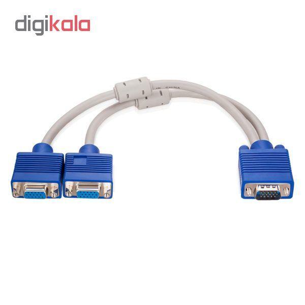 مبدل تبدیل 1 به 2 پورت VGA مدل MN-B15TO2 main 1 4