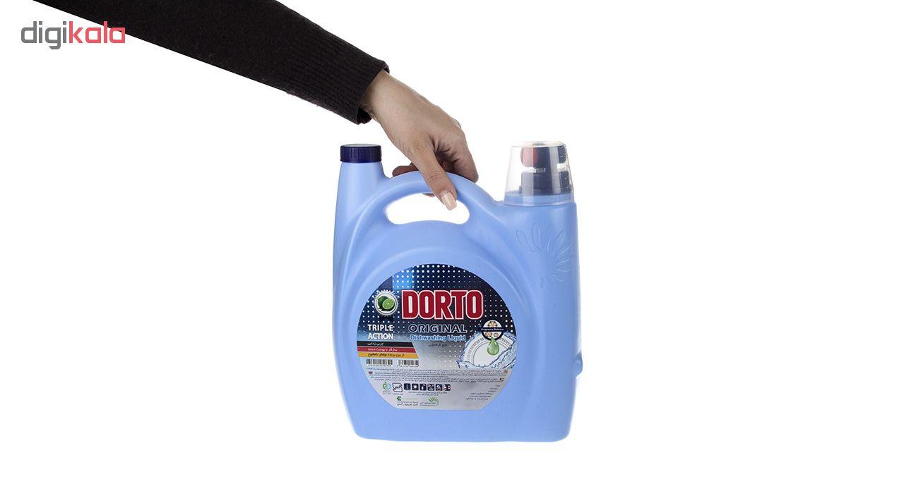 مایع ظرفشویی دورتو مدل Triple Action مقدار 3750 گرم main 1 5