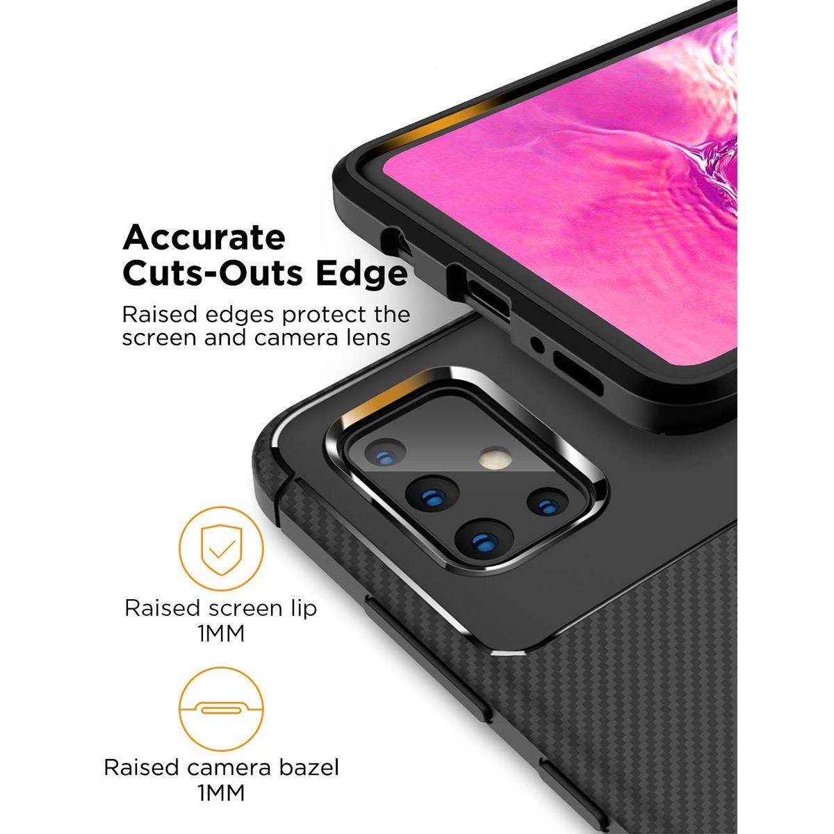 کاور لاین کینگ مدل A21 مناسب برای گوشی موبایل سامسونگ Galaxy A71 thumb 2 18