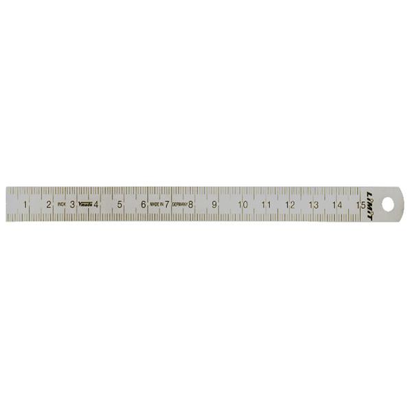 خط کش فلزی لیمیت سایز 15 سانتی متر