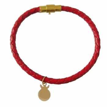 دستبند طلا 18 عیار کانیار گالری مدل DL20