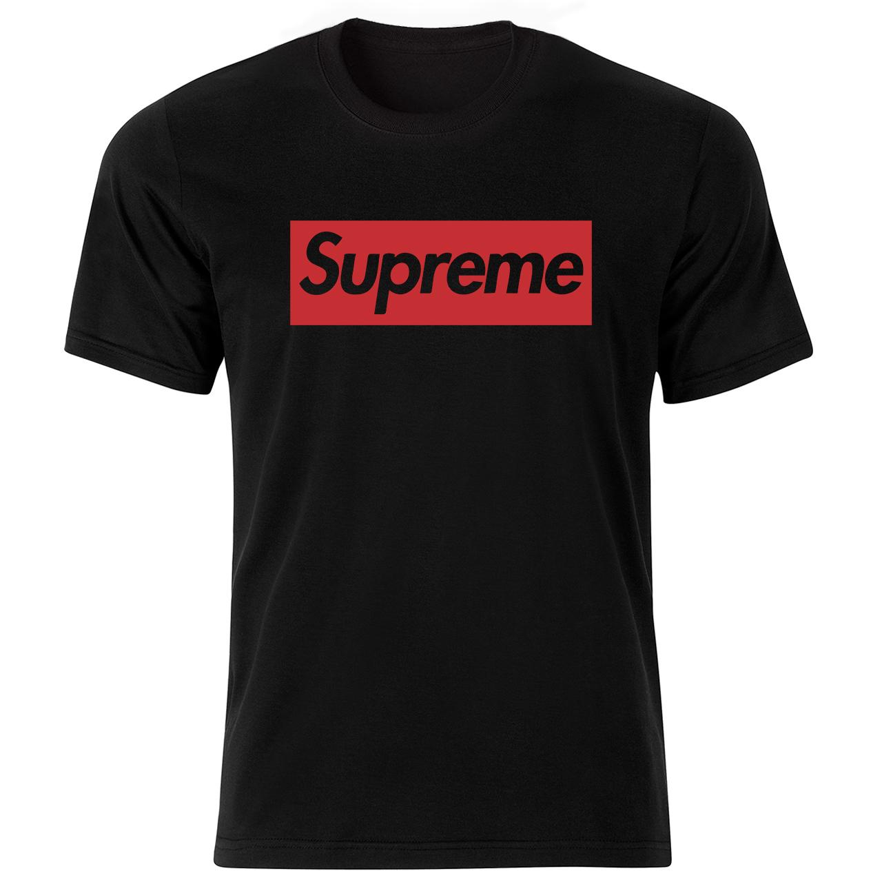 تی شرت آستین کوتاه مردانه طرح supreme کد  18137 BR